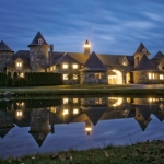 Castle Farms at night