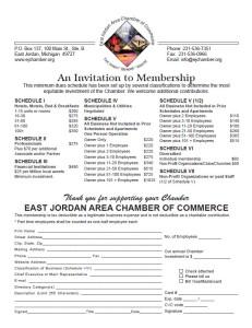 2015 Membership Form